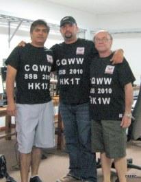 HK1X-HK1T-HK1W dentro del shack